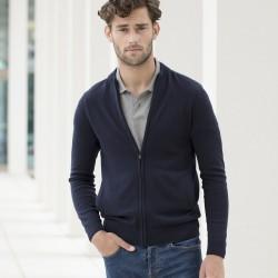 Maglieria HENBURY HEH718 Unisex Unisex knit jacket 50%C 50%A Manica lunga