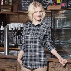 Camicia KARLOWSKY KBF7 Donna W. blouse Urban-Flair 65%P35%C Manica lunga