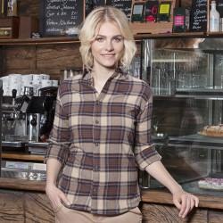 Camicia KARLOWSKY KBF9 Donna W. blouse Urban-Trend 65%P35%C Manica lunga