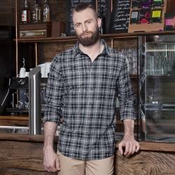 Camicia KARLOWSKY KBM7 Uomo M. blouse Urban-Flair 65%P35%C Manica lunga