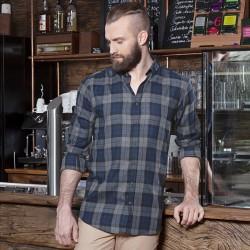 Camicia KARLOWSKY KBM8 Uomo M.blouse Urban-Style 65%P35%C Manica lunga