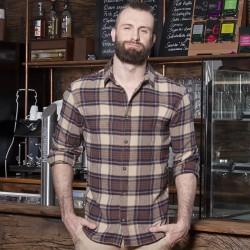 Camicia KARLOWSKY KBM9 Uomo M.blouse Urban-Trend 65%P35%C Manica lunga