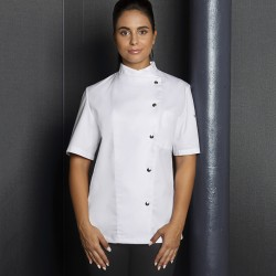 Ho.Re.Ca. KARLOWSKY KJF4 Donna Ladies' Chef Greta 65%P 35%C Manica corta