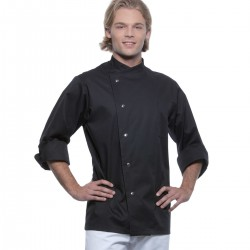 Ho.Re.Ca. KARLOWSKY KJM14 Uomo Chef Jacket Lars 65%P 35%C