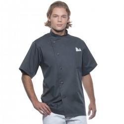 Ho.Re.Ca. KARLOWSKY KJM15 Uomo Chef Jacket Gustav 65%P 35%C Manica corta