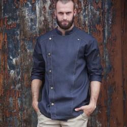 Ho.Re.Ca. KARLOWSKY KJM24 Bambino Chef Jacket Tennessee 65%P35%C Manica lunga,Setin