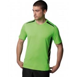 T-Shirt KUSTOM KIT KK930 Uomo MEN'S TRAINING SHIRT FL 100%P Manica corta,Setin