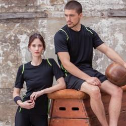 T-Shirt KUSTOM KIT KK966 Donna T-SH DONNA COOLTEX M/C 100%P Manica corta,Setin