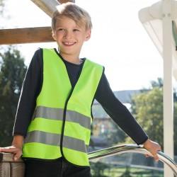 Giacca KORNTEX KW100 Bambino Functional Vest Kids 100%P Senza maniche
