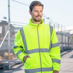 Pile KORNTEX KXFJ Unisex Fleece-Jacket 100%P Manica lunga,Setin