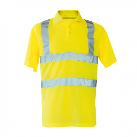 Polo KORNTEX KXPOLO Unisex Hi-viz Polo Shirt 100%P Manica corta,Setin