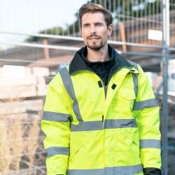 Giacca KORNTEX KXRJ Unisex Premium Raining Jacket 100%P Manica lunga,Setin