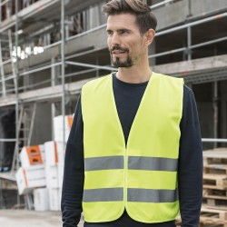 Giacca KORNTEX KXX217 Unisex Simple Safety Vest 100%P Senza maniche