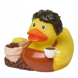 Gadget MBW M131277 Unisex Squeaky duck, coffee 100%PVC