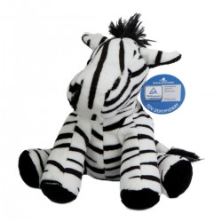 Gadget MBW M160037 Unisex Zoo animal zebra Zora 100%P