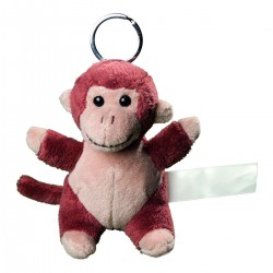 Gadget MBW M160370 Unisex Plush monkey keyc 100%P