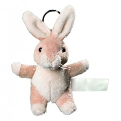Gadget MBW M160376 Unisex Plush rabbit with keyc 100%P