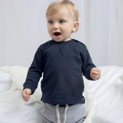Felpa BABYBUGZ MABZ31 Baby Baby Sweatshirt 80%C 20%POL Manica lunga,Setin