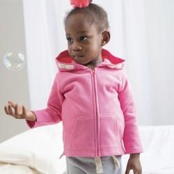 Felpa BABYBUGZ MABZ32 Baby Baby Hoodie 80%C 20%POL Manica lunga,Setin