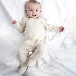 Baby BABYBUGZ MABZ35 Baby Baby Organic Sleepsuit 100%C Manica lunga