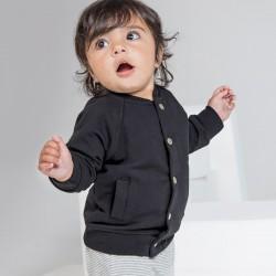 Baby BABYBUGZ MABZ40 Baby Baby Bomber Jacket 80%C 20%P Manica lunga,Raglan