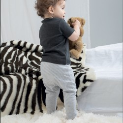 Pantaloni BABYBUGZ MABZ46 Baby Baby Striped Leggings 100%C