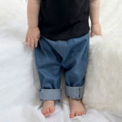Pantaloni BABYBUGZ MABZ54 Baby Denim trousers 100%OCS