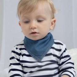 Cravatte, foulard BABYBUGZ MABZ55 Baby Bandana denim 100%OCS