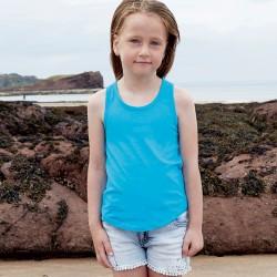 T-Shirt MANTIS MINI MAHM81 Bambino Girls Racerback Tank Vest100%C Setin
