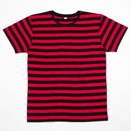T-Shirt MANTIS MAM109S Uomo MEN'S STRIPY TEE 100%C Manica corta,Setin