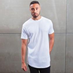 T-Shirt MANTIS MAM126 Uomo Men's Long Lenght T 100%C Manica corta,Setin