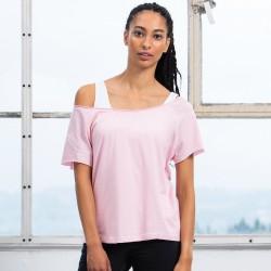 T-Shirt MANTIS MAM129 Donna Flash Dance T 100%C Manica corta,Raglan