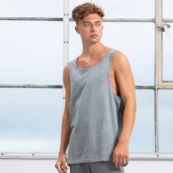 T-Shirt MANTIS MAM133 Unisex,Uomo,Donna One Drop Armhole Vest 100%C Senza maniche,Setin