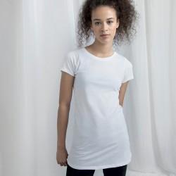 T-Shirt MANTIS MAM71 Donna WOM LONG LENGHT TEE 100%RINGS Manica corta,Setin