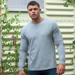 T-Shirt MANTIS MAM86 Uomo T SHIRT M/L SUPERSTAR 100%C Manica lunga,Setin