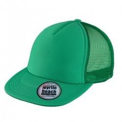 Cappello MYRTLE BEACH MB6508 Unisex 5 PAN FLAT PEAK CAP 100%P M&B