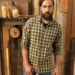Camicia PREMIER PR250 Uomo Mulligan Check - Men's Shirt 1 Manica lunga