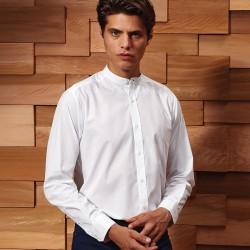 Camicia PREMIER PR258 Unisex Collar 'Grandad' LS Shirt65%P3 Manica lunga