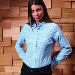 Camicia PREMIER PR352 Maxton Women LS Shirt65%P35%C