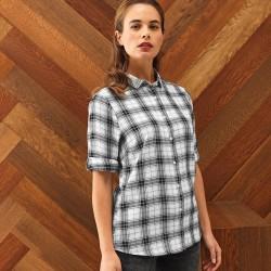Camicia PREMIER PR354 Donna Ginmill Check -Ladies' Shirt 1 Manica lunga