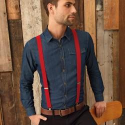 Accessori PREMIER PR701 Unisex Clip on Trousers Braces 60%P 4