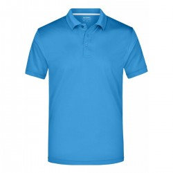 Polo JAMES & NICHOLSON JN401 Uomo MEN POLO HIGH PERF 100%P J&N Manica corta
