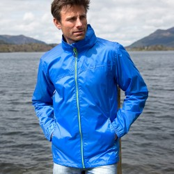 Giacca RESULT RER189X Unisex,Uomo QUEST LIGHT STOWABLE JKT 100%N Manica lunga