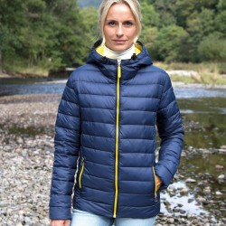 Giacca RESULT RER194F Donna W Snow Bird Padded Jacket100%N Manica lunga