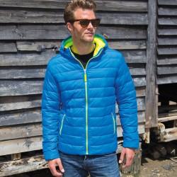 Giacca RESULT RER194M Uomo M Snow Bird Padded Jacket100%N Manica lunga
