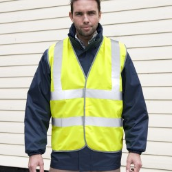 Giacca RESULT RER201X Unisex,Uomo,Donna Safety High Viz Vest 100%P Senza maniche