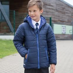 Giacca RESULT RER233J Bambino Junior Padded Jacket 100%P Manica lunga