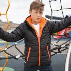 Giacca RESULT RER233Y Bambino Youth Padded Jacket 100%P Manica lunga