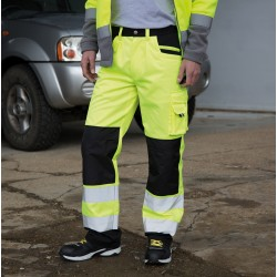 Pantaloni RESULT RER327X Unisex,Uomo Safety Cargo Trousers 80%P20%C