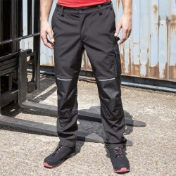 Pantaloni RESULT RER473X Uomo Slim Softsh Work Trouser100%P